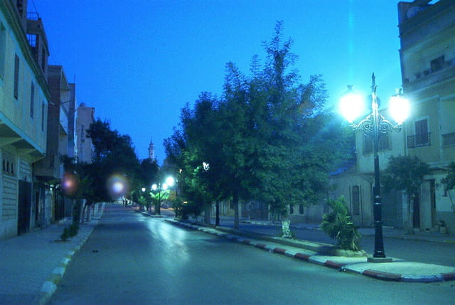 Alleés nuit