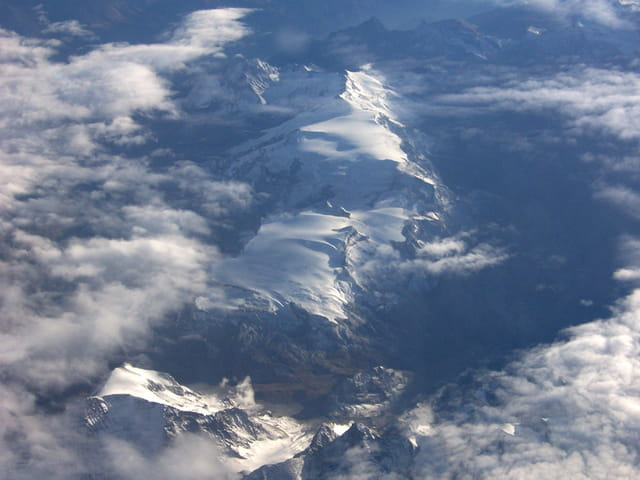 Alpes vu du ciel