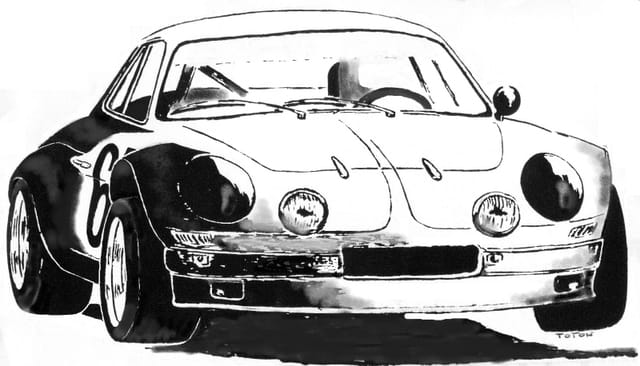 Alpine renault berlinette