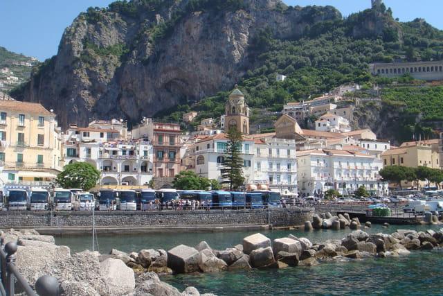 Amalfi le port