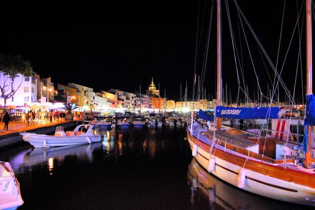 Ambiance sur le port du Cap d'Agde
