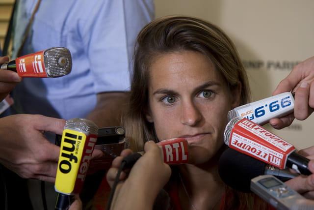 Amélie Mauresmo, Roland Garros 2008