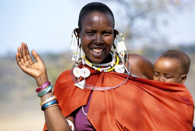 Amitié masaï