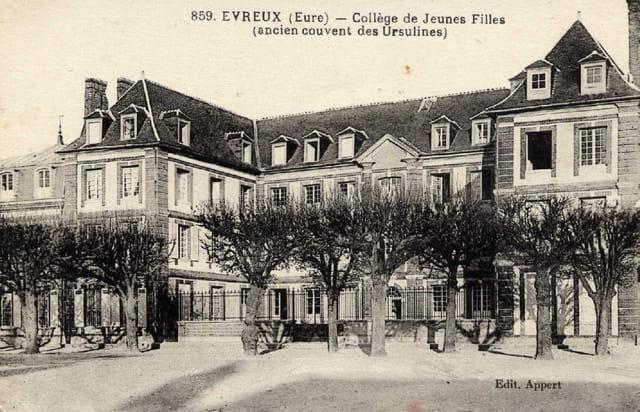 Ancien couvent des Ursulines à Evreux