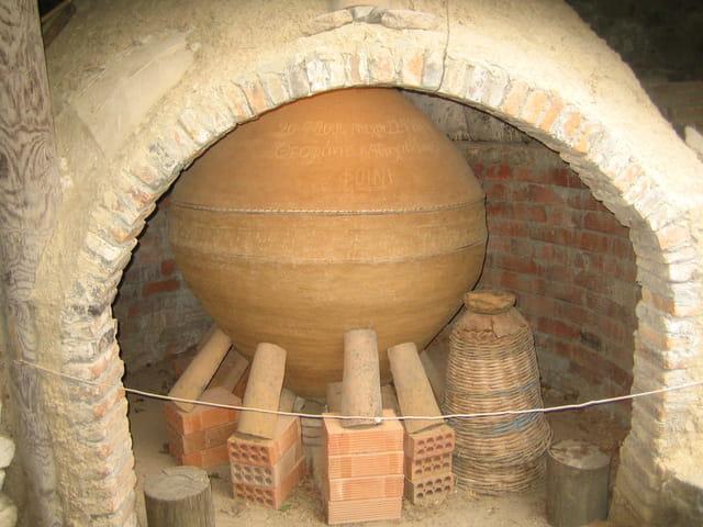 Ancien four à poteries