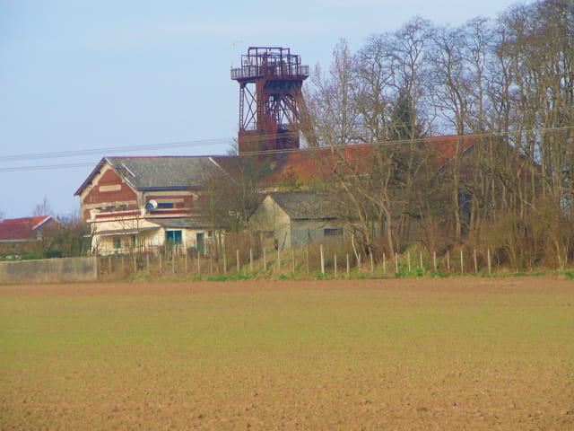 Ancien puits de mines