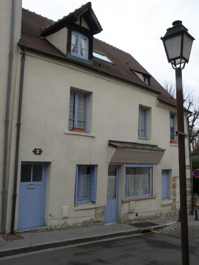 Ancienne boutique, rue de Saint-Germain, au Pecq