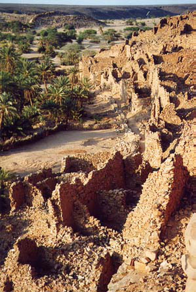 Ancienne cité caravanière