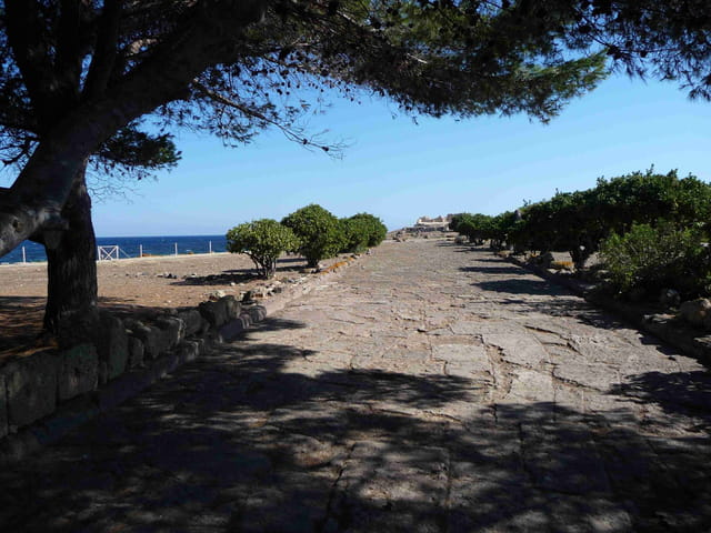 Ancienne voie romaine.