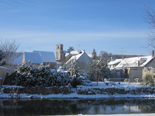 Andryes sous la neige