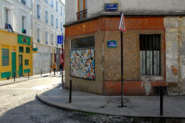 Angle de la rue Sainte Marthe et de la rue Jean Moinon
