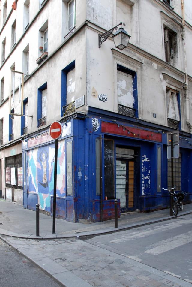 Angle de la rue Sainte Marthe et de la rue Saint Maur