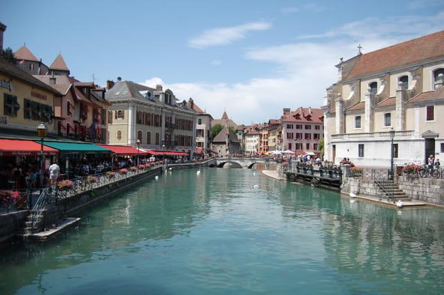 Annecy , la vieille ville