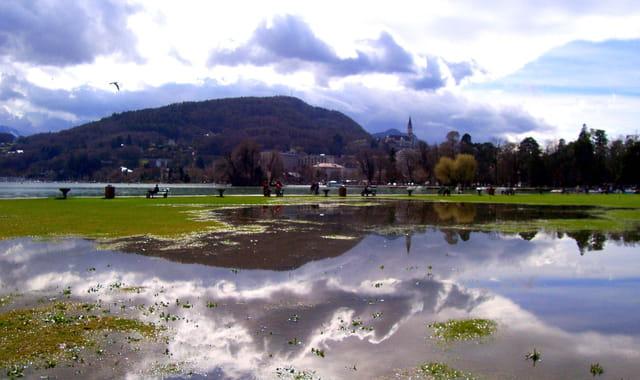 Annecy vue du lac
