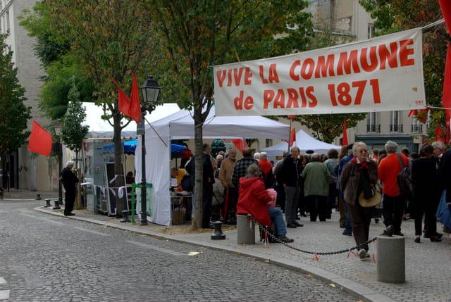 Anniversaire de La Commune de Paris 1871 La Butte aux Cailles
