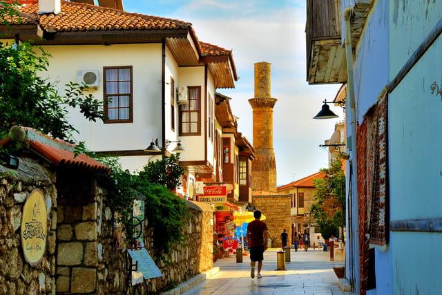 Antalya, la vieille ville.
