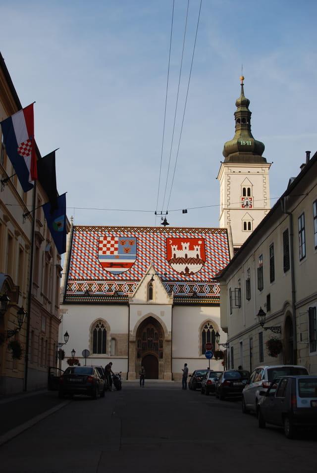 aperçu sur l'église Saint Marc