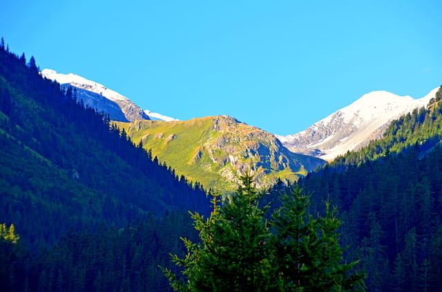 Aperçu sur les glaciers de la Vanoise