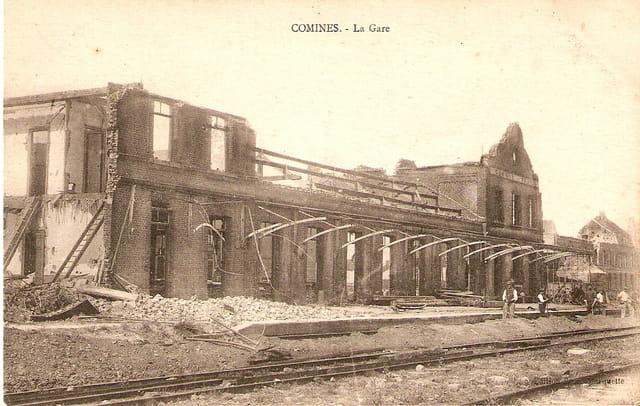 Après le bombardement