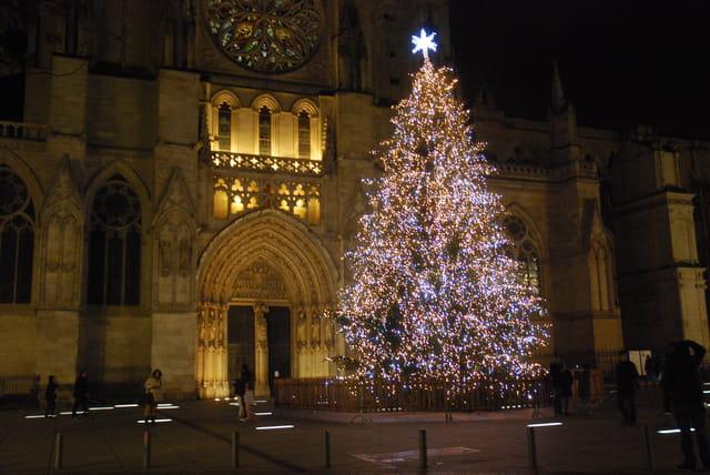 arbre de Noël à Bordeaux