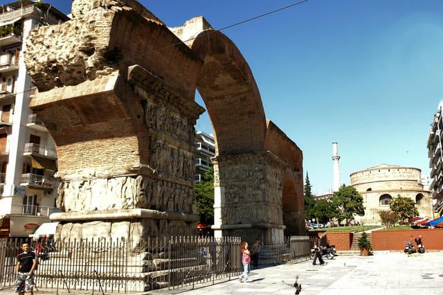 Arc de triomphe de Galère
