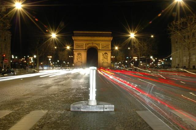 Arc de triomphe et sa circulation