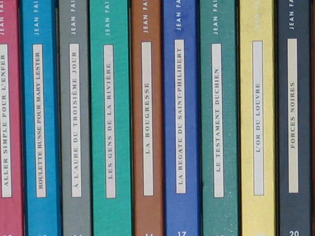 Arc en ciel de livres