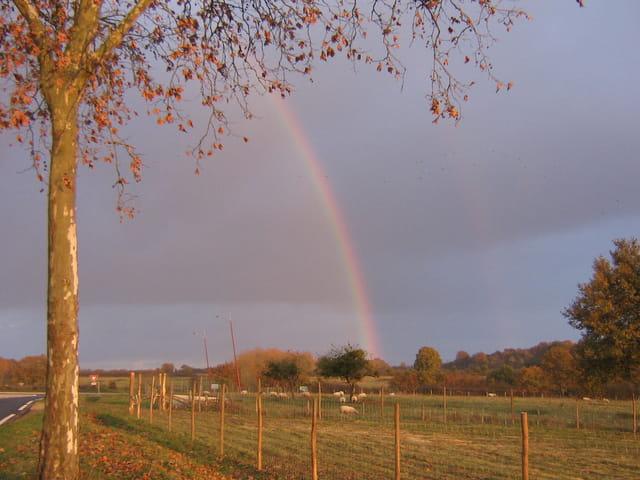 Arc en ciel en Limousin