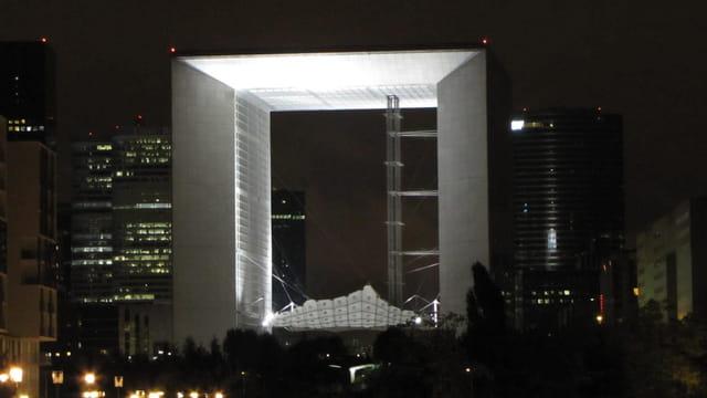 Arche de la Défense by night