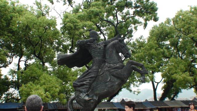 archer à cheval