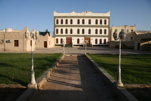 Architecture bédouine des villes