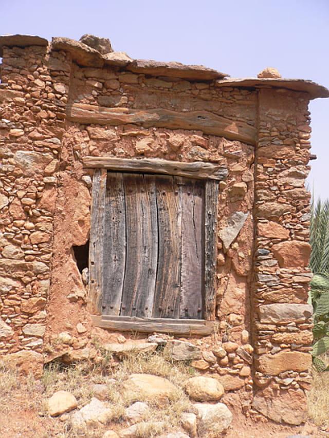 Architecture bérbère de la porte ex