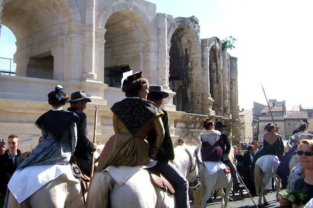 Arles fête des gardians