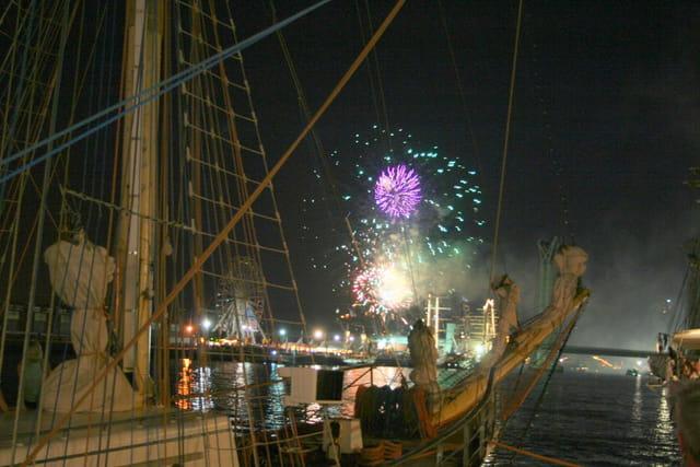 Armada de Rouen et feu d'artifice