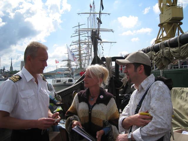 Armada 2008 : rencontre sur le drakkar