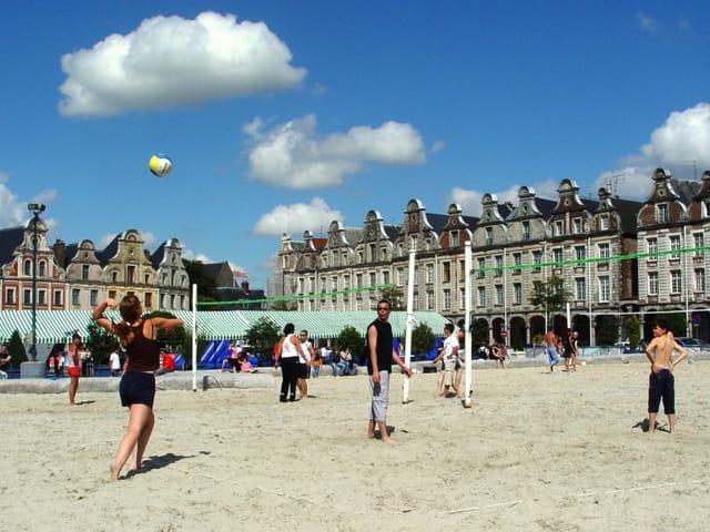 Arras on the Beach