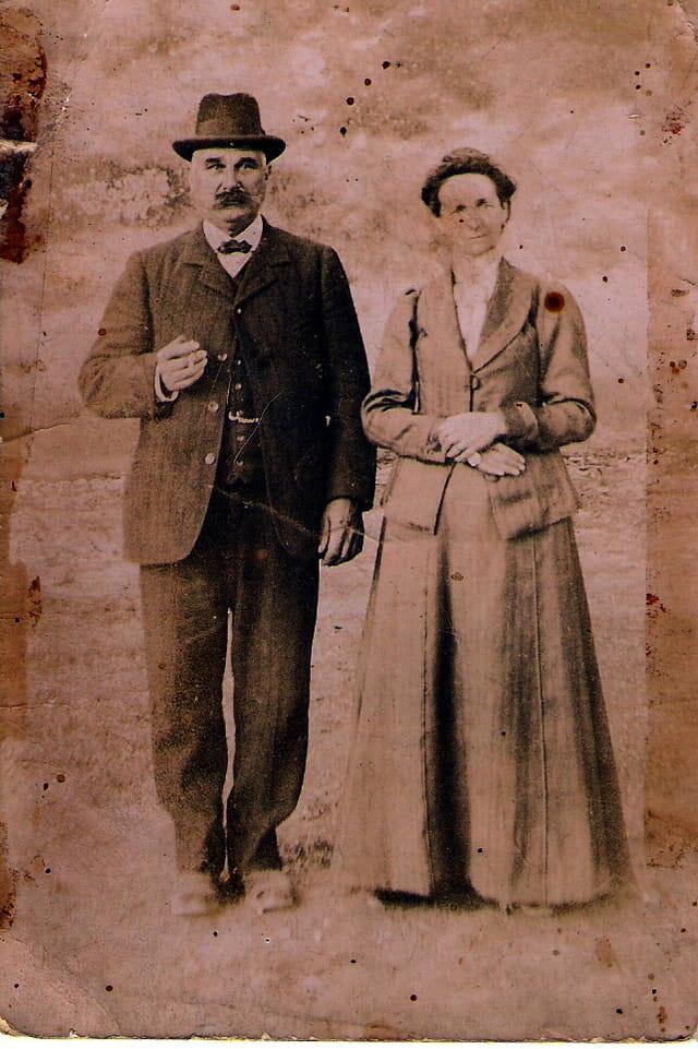 Arrières grands-mère et grand-père