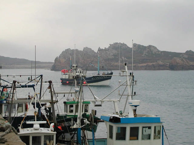 Arrivée au port