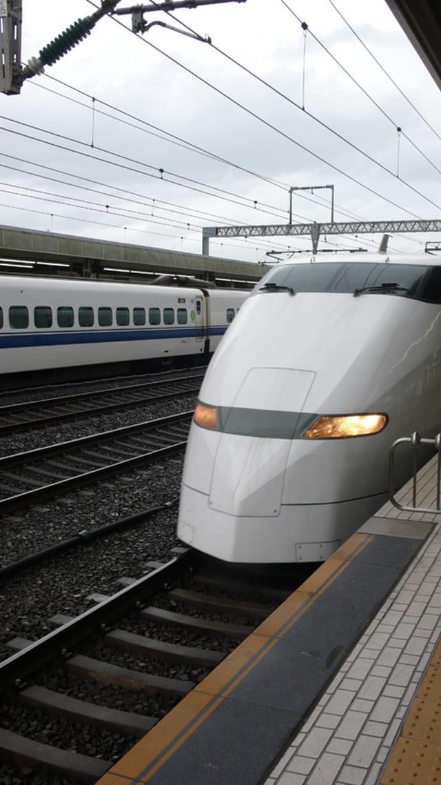 Arrivée du Shinkansen