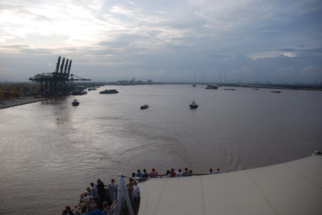 arrivée sur Ho Chi Minh Ville