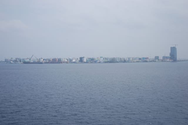 arrivée sur Malé