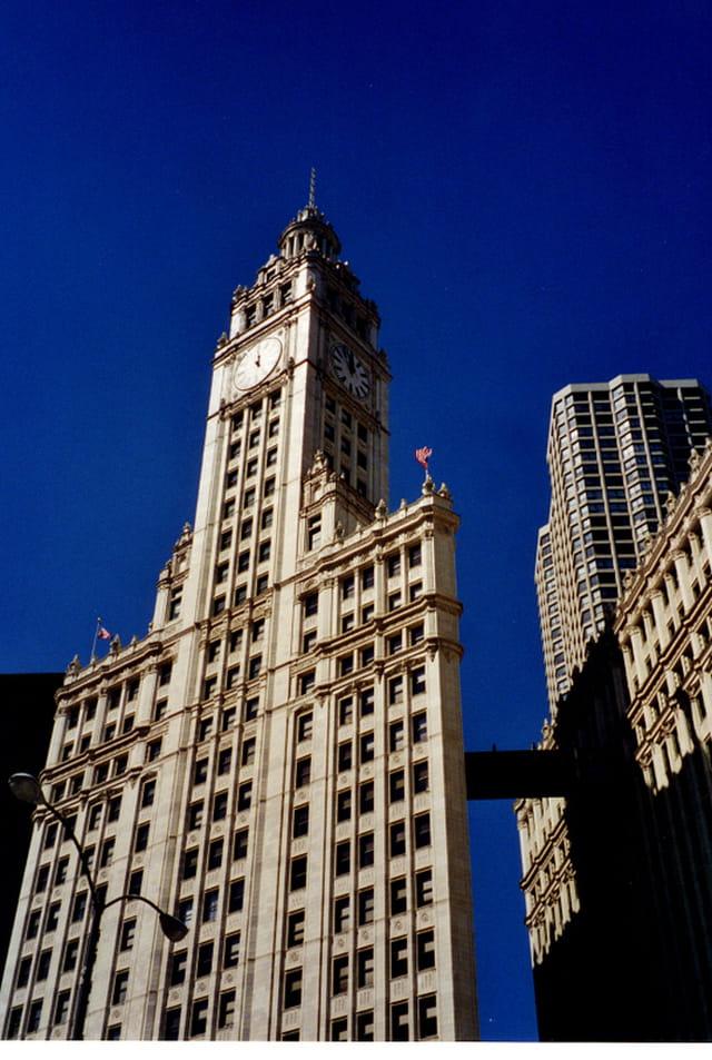 Art déco de Chicago.