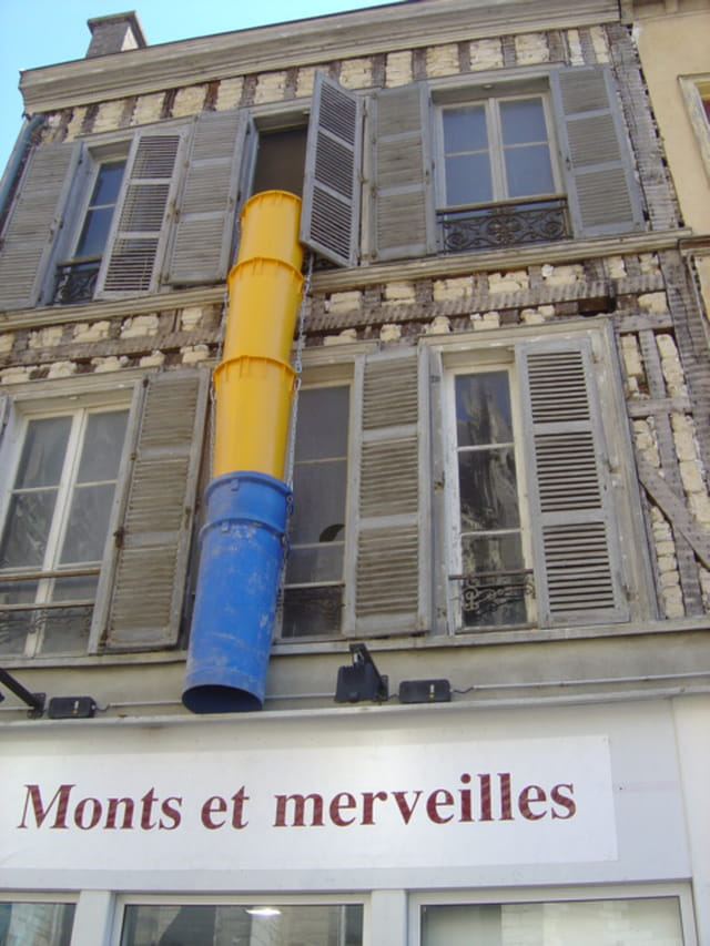 Art moderne dans la ville