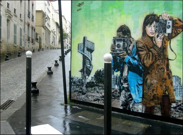 Art mural à la Butte-aux-cailles