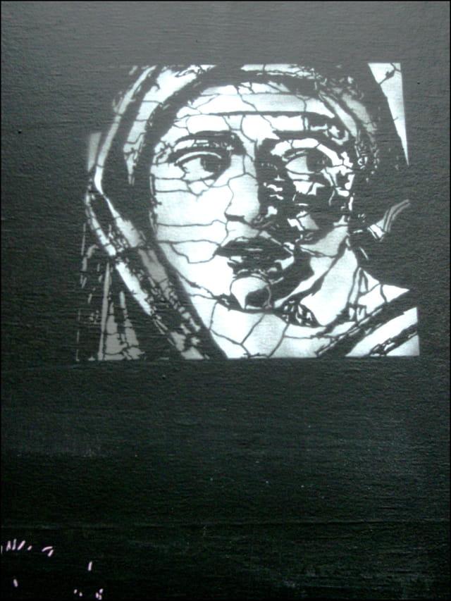 Art mural inspiré par Michel-Ange