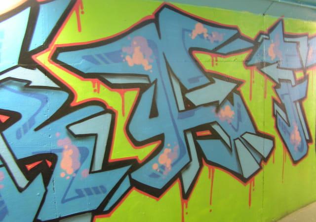 Art urbain ARTHOGRAFF (détail)