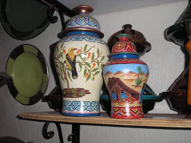 Artisanat marocain :poterie
