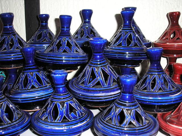 Artisanat marocain:poterie