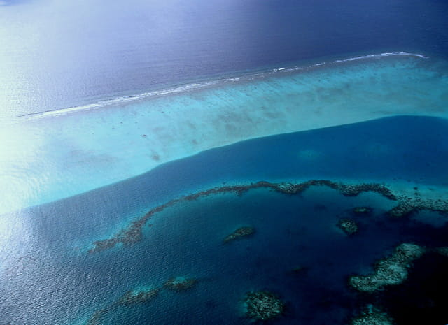 Atoll des Maldives