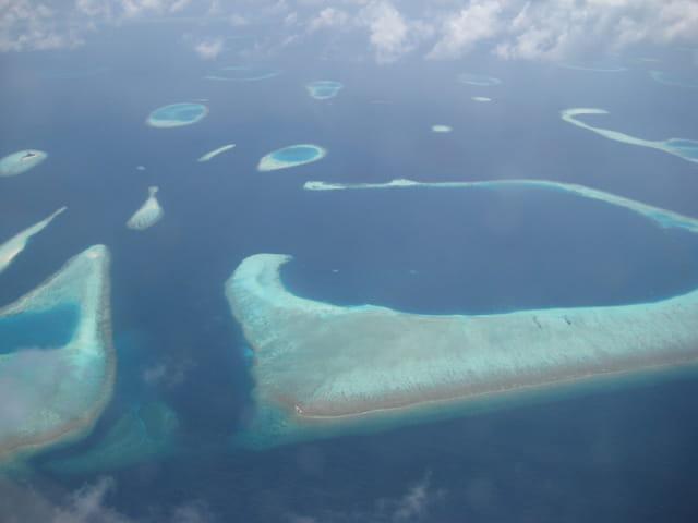 Atolls des Maldives